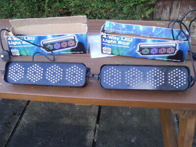 DISCO LIGHTS NJD LED 4s PAIR  - NICE N BRIGHT! - GREAT DISCO LIGHTS