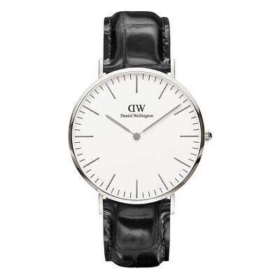 Orologio Uomo Classic Reading Daniel Wellington DW00100028 40mm Cassa Silver