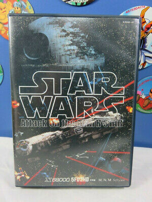 STAR WARS ATTACK ON THE DEATH STAR X68000 -Complete good condition- Shoot