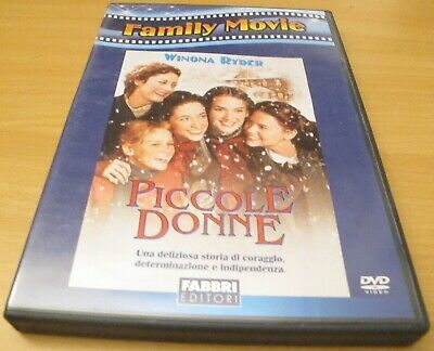 Piccole donne - Gillian Armstrong - Winona Ryder - DVD - Imbustato - PERFETTO!