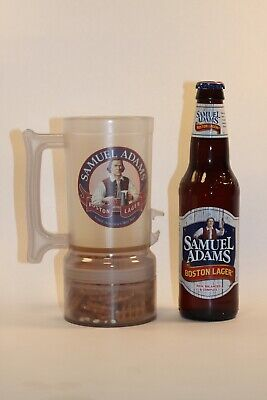 U.S. Patented Beer Mug - Unique Design Allows for Removable Bottom Container