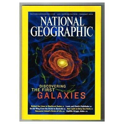 National Geographic Magazine February 2003 MBox3664/I The First Galaxies