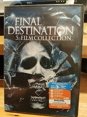 5 Film Collection: Final Destination DVD Brand new in Sealed Package