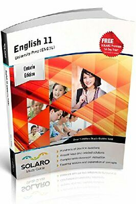 Ontario English 11 — University Prep (ENG3U) SOLARO Study Guide