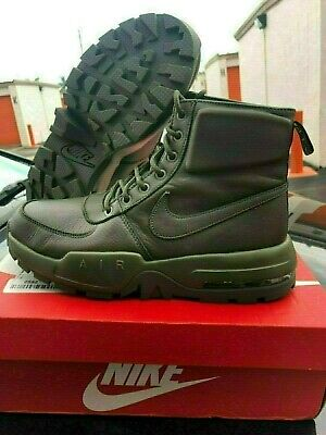 newest 52c34 f992d New Men s Nike Air Max Goaterra 2.0 916816 300 Cargo Khaki Hiking Boots  Size 8