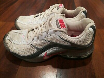 size 40 19532 c5a49 Nike Reax Run 5 Womans Running Training Sneakers Shoes White Pink Silver  Size7.5