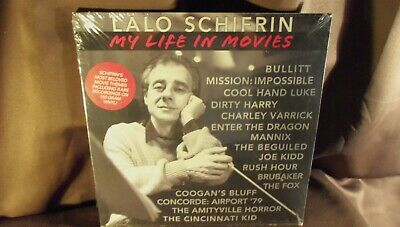 LALO SCHIFRIN my life in movies 180g Ltd ALEPH rsd (2017)  SEALED LP