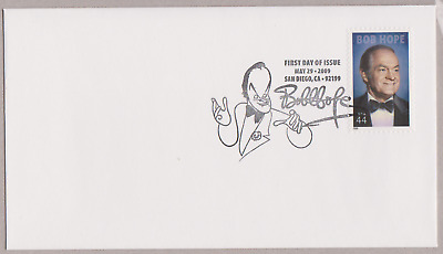 US Bob Hope Legends of Hollywood 2009 USPS FDC & DCP Issued MNH Scott 4406