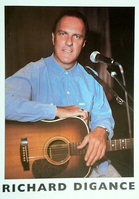 Colour 8x10 press PHOTO  Richard Digance