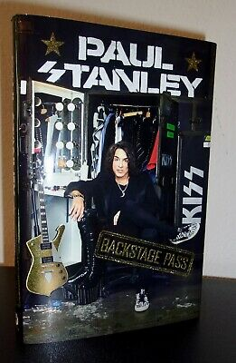 Backstage Pass by Paul Stanley (HC 2019) SIGNED US 1ST/1ST