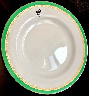 """Very Rare Vintage Lloyds Bank Official Bone China 9""""/23cm Dinner Plate By Spode"""