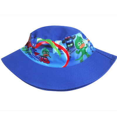 PJ MASKS boys hunting camping fishing bucket hat preschool childcare baby