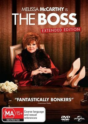 The Boss (DVD, 2016) Melissa McCarthy Brand New Sealed R4