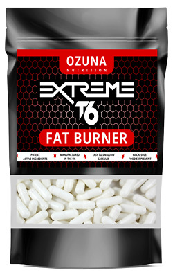 60 x 500mg WEIGHT LOSS PILLS (Strongest LEGAL Formula) Sliming Capsules