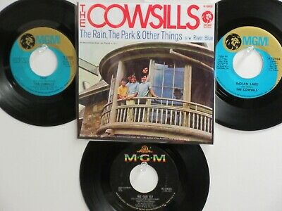4 ' THE COWSILLS ' HIT 45's+1P(Copy)[The Rain,The Park & Other Things] THE 60's!