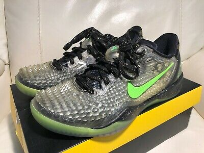8c1a0eb144d2 PRE-OWNED NIKE KOBE 8 System SS sz 9 Christmas Edition Black ...