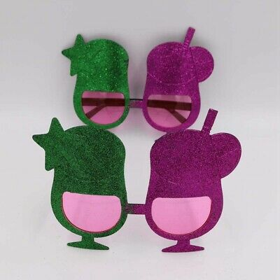 1pc Eyeglasses Summer Cup Shape Hawaiian Style Funny Photo Props for Party