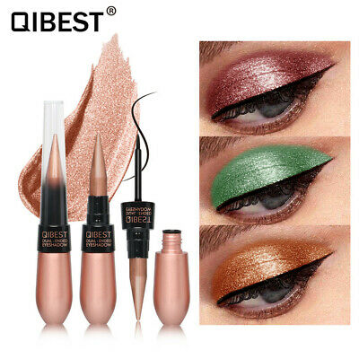 Dual-ended Beauty Waterproof Eye Shadow Eye Liner Eyeliner Pen Pencil Makeup