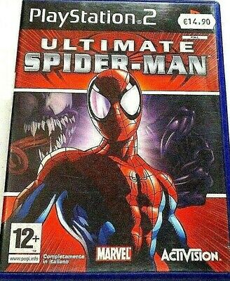 Ultimate Spider-Man L'uomo Ragno Spiderman Marvel Avengers Ita Plaustation 2 Ps2