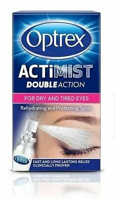 Optrex Actimist Double Action for Dry & Tired Eyes - 10ml 168 product ratings