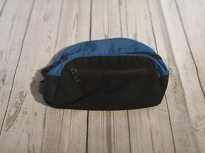 OUTDOOR RESEARCH Dopp Kit Toiletry Bag Travel Zippered Pouch BLUE/BLACK