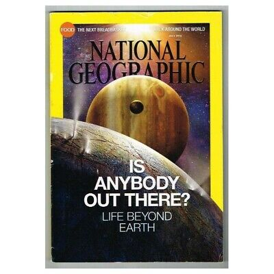 National Geographic Magazine July 2014 MBox3654/I Is There Anybody Out There?