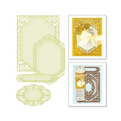 Stencil Lace Border frame Metal Cutting Die for Scrapbooking Album Embossing