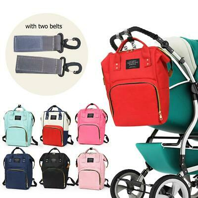 Mummy Maternity Changing Nappy Bag Travel Backpack Baby Stroller Top-Handle Bags