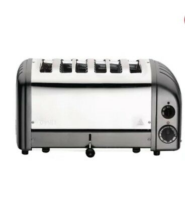 Dualit 6 Slice Vario Toaster Charcoal 60156