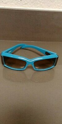 74a7514329 SPY SpyOptic ABBEY .021C Sunglasses Made In Italy Teal Blue Green Mens  Womens