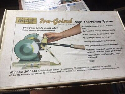 Woodcut Tru Grind Sharpening System and Woodcut Sturdy Rest