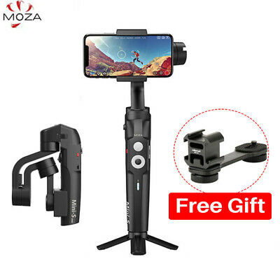 Moza Mini-S Foldable 3-Axis Smartphone Gimbal Handheld Vlog Stabilizer for Phone