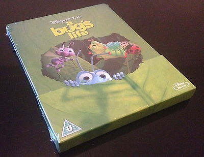 Steelbook Blu Ray Bug's Life 1001 Pattes Edition Limite A 3000 Ex. Neuf/New Oos