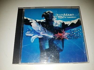 Bryan Adams - Let's Make A Night To Remember 4 Track CD Single VGC