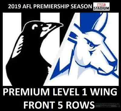 AFL Tickets   Collingwood Magpies vs North Melbourne Kangaroos   Level 1 Wing