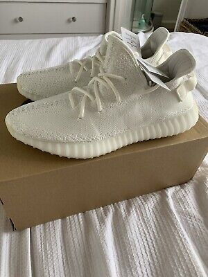 pretty nice 062ff 2a707 UK 11 Adidas YEEZY Boost 350 V2 White Authentic All White. Double Boxed.