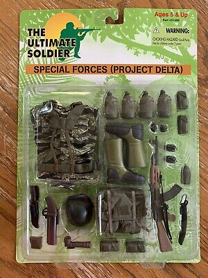 MULTI-LISTING The Ultimate Soldier Accessories Uniforms Weapons Sets 1:6