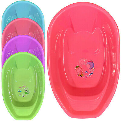 New X Large Baby Bath Tub Plastic Washing Time Big Toddler Basket Baby Bath