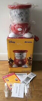 **NEW** Electric Disney Mickey Minnie Mouse Ariete Italian Ice cream Maker Boxed