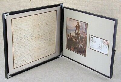 Francis Scott Key - Autograph Document Multi-Signed 01/19/1824