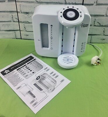 Tommee Tippee Closer to Nature White Milk Prep Machine Baby Bottle Formula