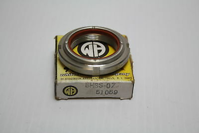 Whittet Higgings BHSS-07 Stainless Steel Threaded Shaft & Bearing Locknut New