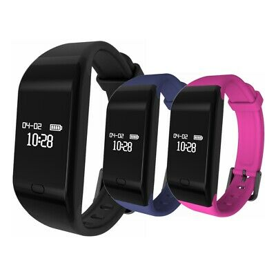 Waterproof Heart Rate Monitor Fitness Tracker Sports Smart Watch for iOS Android