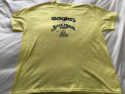 Eagles - Steve Miller Band-T Shirt Sz XL-Riverfront Stadium Cincinnati 8/16/1978