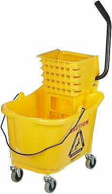 Carlisle 35qt Mop Bucket with Side Press Wringer