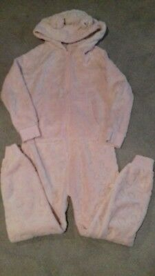 Girl's pink one piece nightwear from Next - Age 10 years