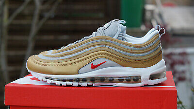 2ca860b23219b NIKE AIR MAX 97 SSL BV0306 700 metallic gold   University Red Gr. 45 ...