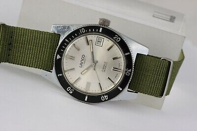 Vintage Lanco diver's watch! 38mm case. Rare watch! From the sixties