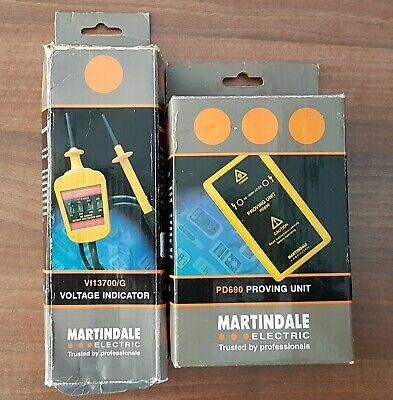 Martindale Proving Unit PD690 Brand New and Martindale VI13700/2 Test Lamps Used