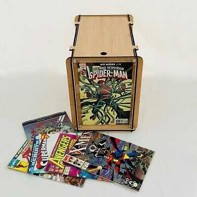 Comic Book Short Box Storage and Display